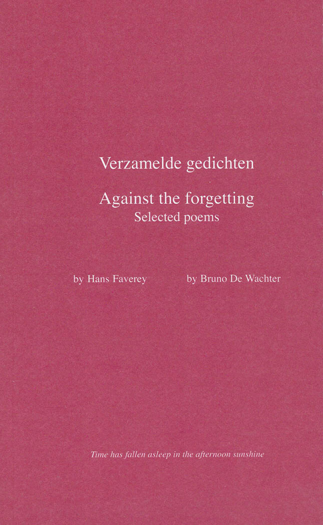 Against the Forgetting