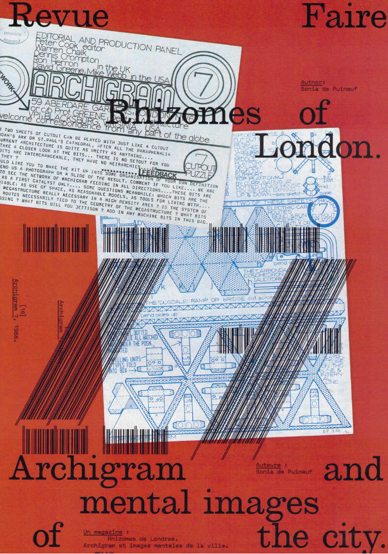 Revue Faire n°27: Rhizomes of London