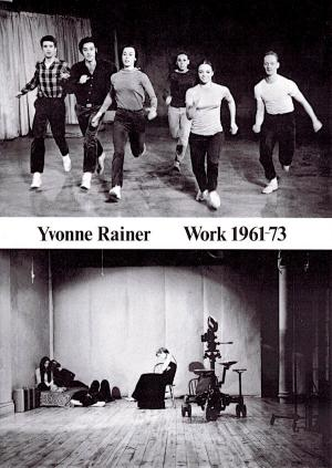 Yvonne Rainer Work 1961-73 - cover image
