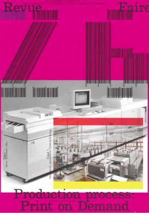 Revue Faire n°26: Production Process - cover image