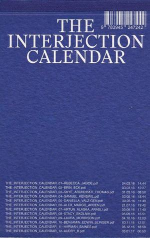 The Interjection Calendar 002 - cover image