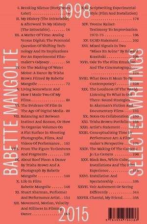 Selected Writings, 1998–2015 - cover image