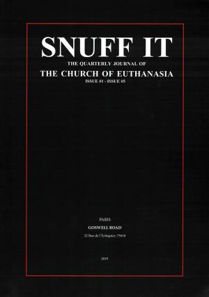 SNUFF IT - cover image